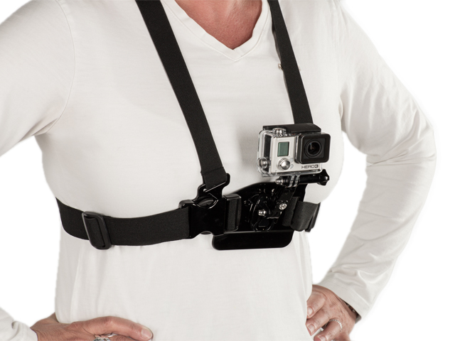 CHEST HARNESS MOUNT FOR GOPRO - SHILL Camera Supports