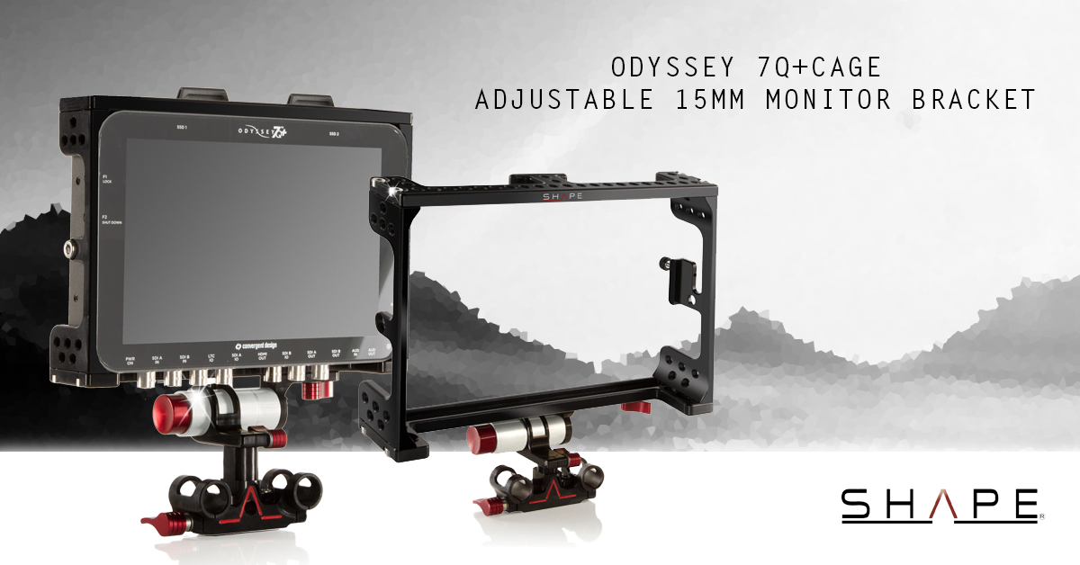Convergent Design Odyssey 7q+ Monitor Cages & Supports