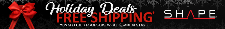 HOLIDAYS FREE SHIPPING WEBSITE BANNER