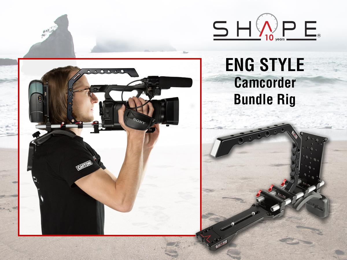 SHAPE ENGBR – ENG Style Camcorder Bundle Rig