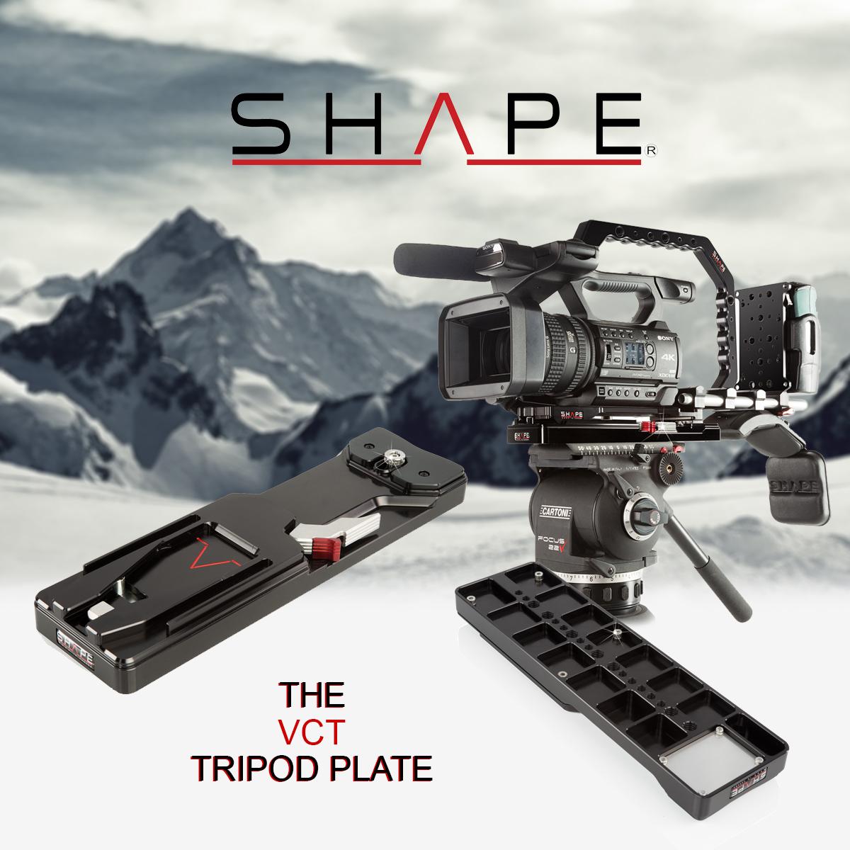 SHAPE VCTSH – VCT Quick Release Tripod Plate