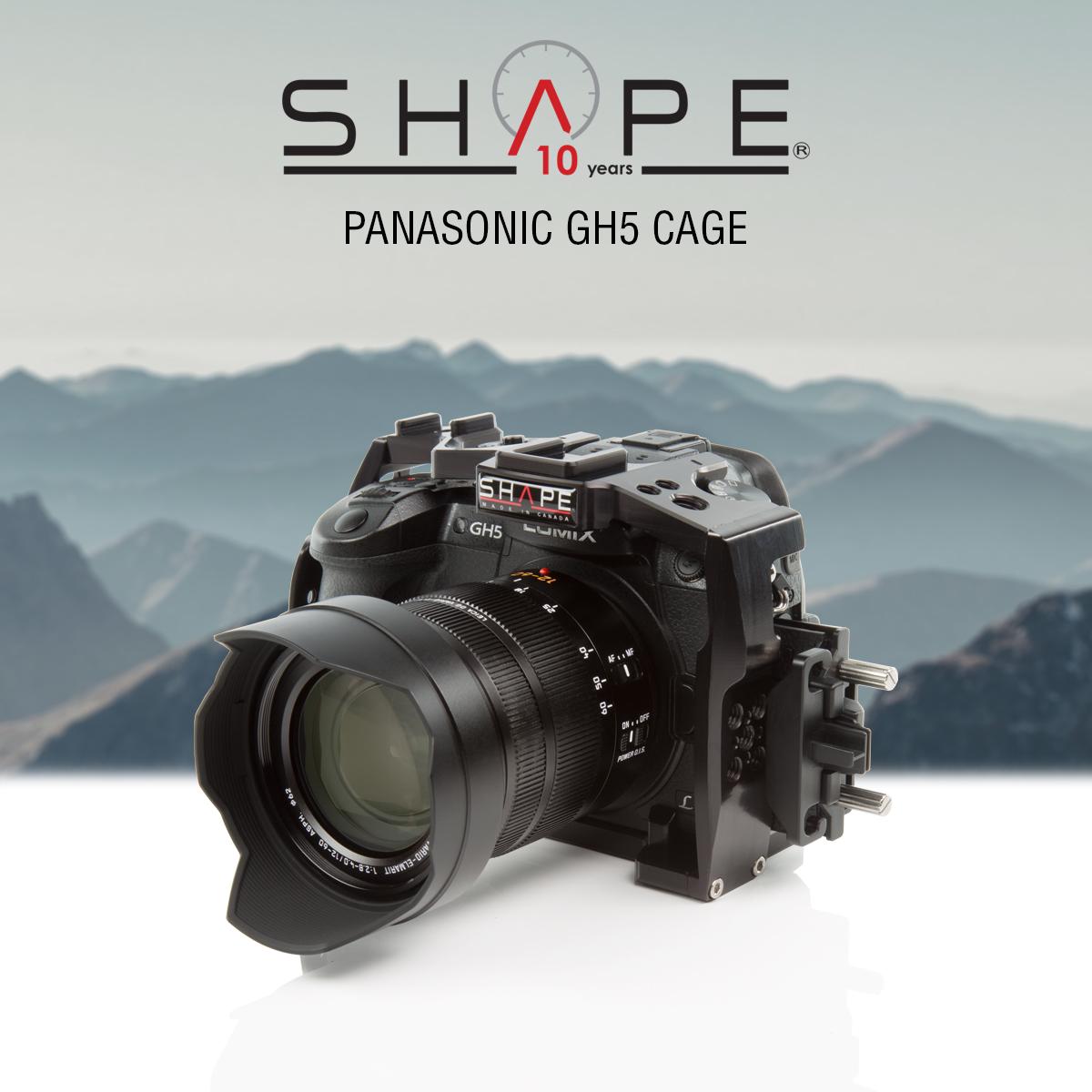 SHAPE GH5CAGE – Panasonic Lumix GH5 Cage