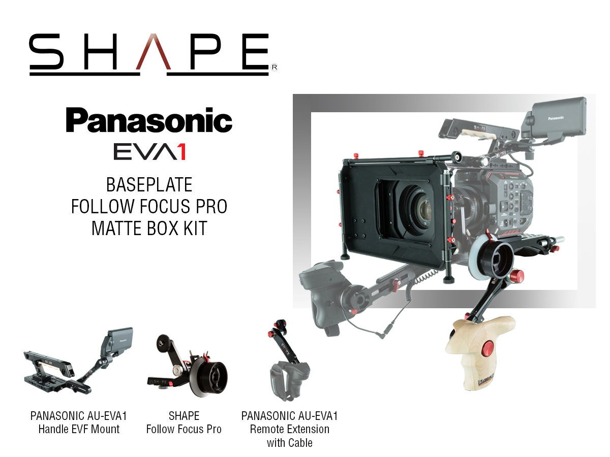SHAPE PANASONIC AU-EVA1 CAMERA SUPPORTS & ACCESSORIES