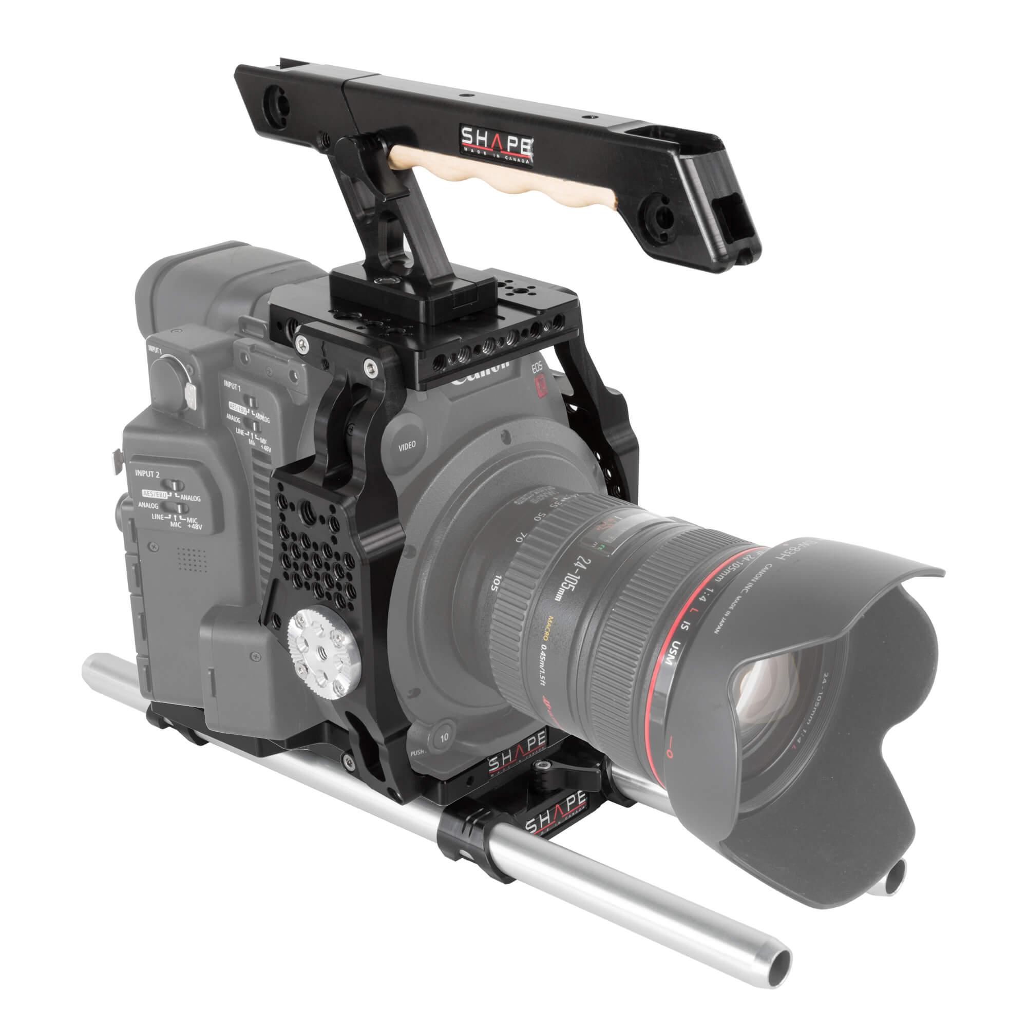 Canon C200 cage 15 mm LW rod - SHAPE