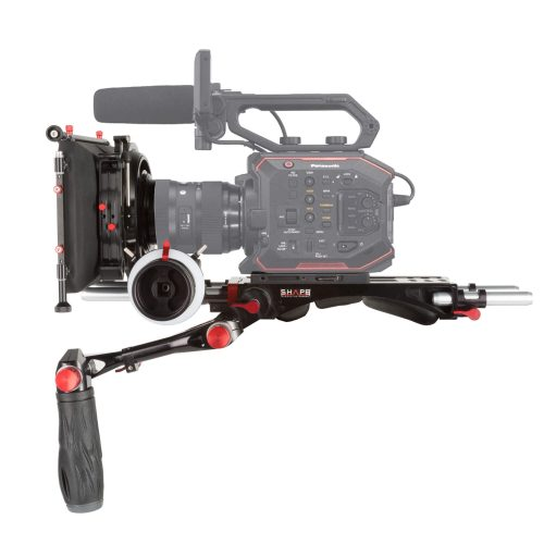 Kit placa central follow focus matte box para Panasonic Au-Eva1
