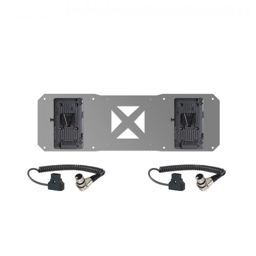 2 V-mount and 2 cables for Atomos sumo battery plate