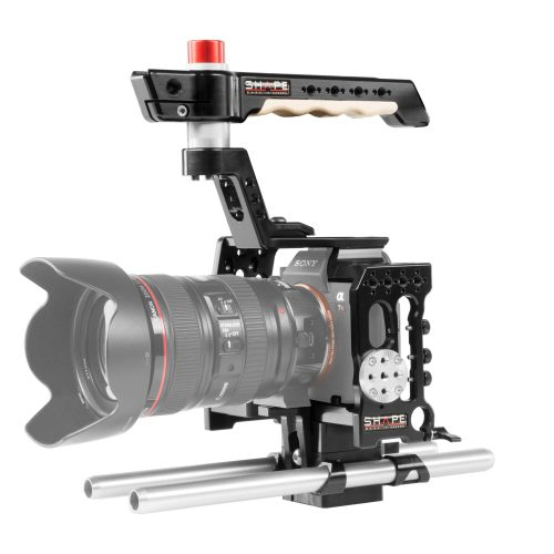 Sony A7R3 cage 15 mm rod system