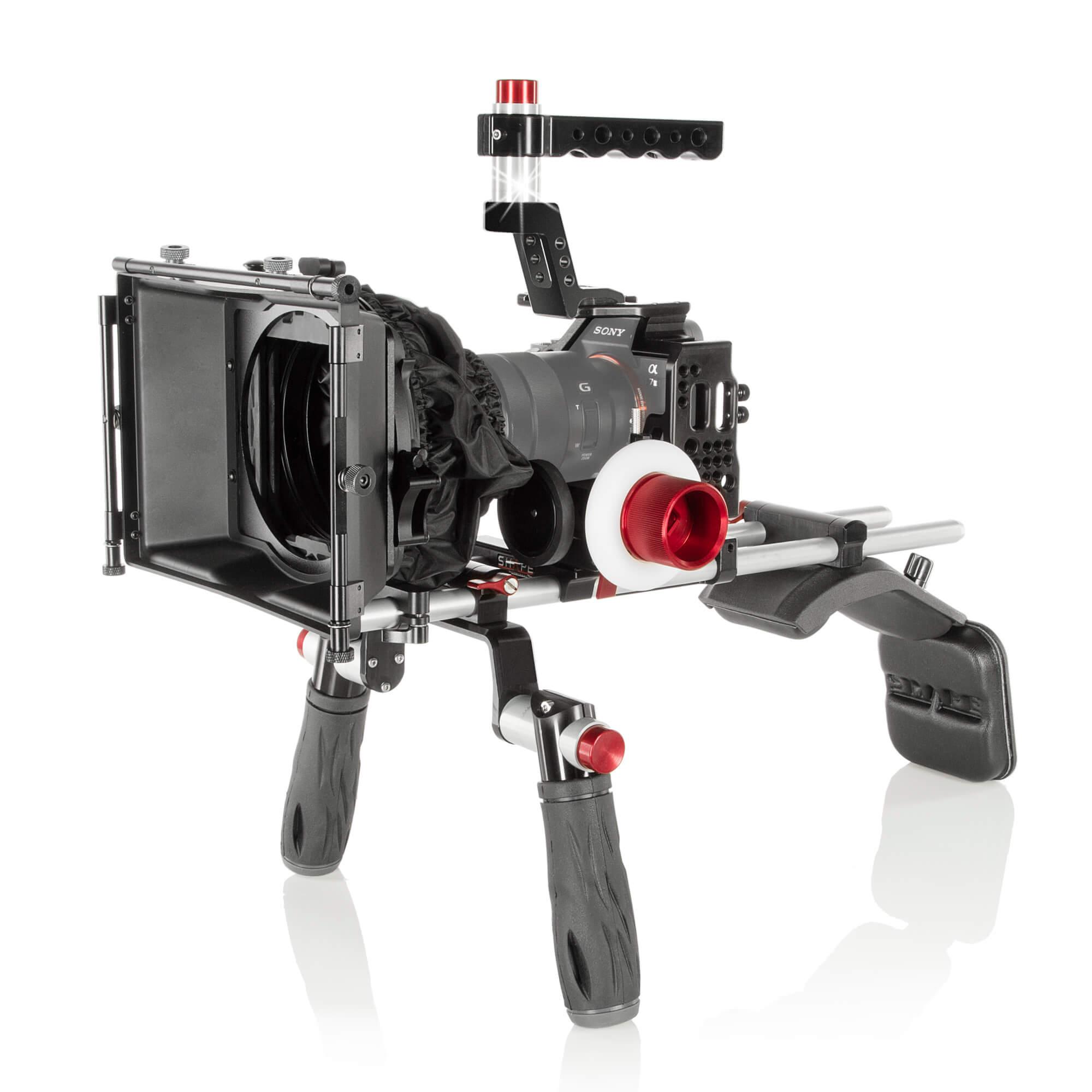 Sony A7S II - A7R II - A7 II shoulder mount matte box follow
