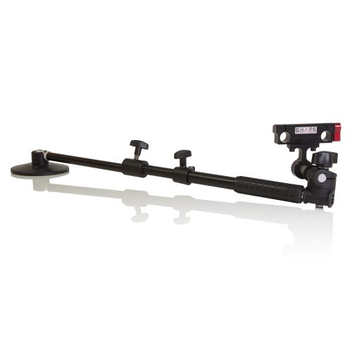 Telescopic support arm 15 mm rod bloc