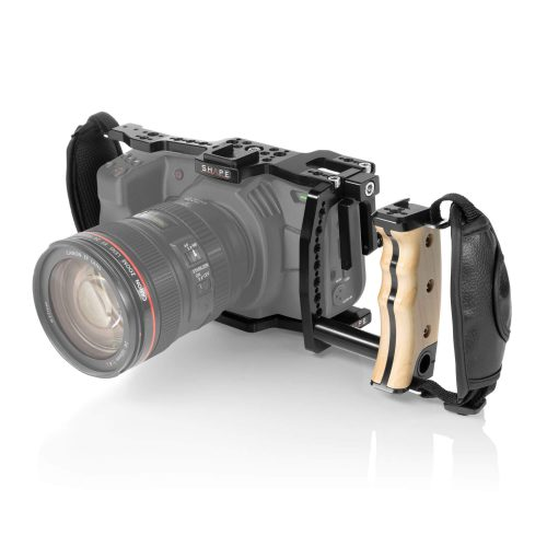 """Cage"" (Jaula protectora) SHAPE para Blackmagic Pocket cinema 4k, 6k con mango lateral."