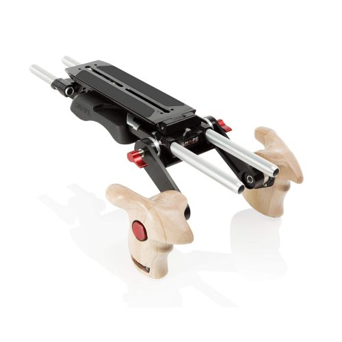 Revolt VCT baseplate with wooden handle grip