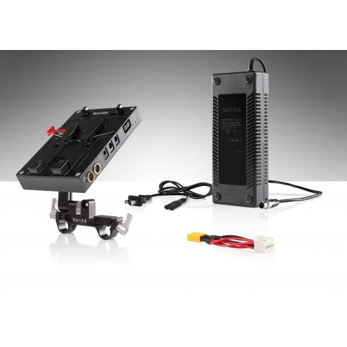 SHAPE J-box camera power and charger for Blackmagic Ursa Mini, Ursa Mini pro