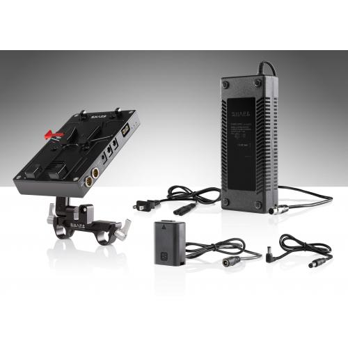 SHAPE J-box camera power and charger for Sony a7 series