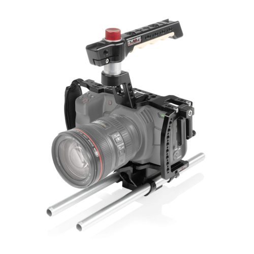 Cage pour Blackmagic Pocket Cinema Camera 4K (BMPCC4K) avec système de rod blocs 15 mm