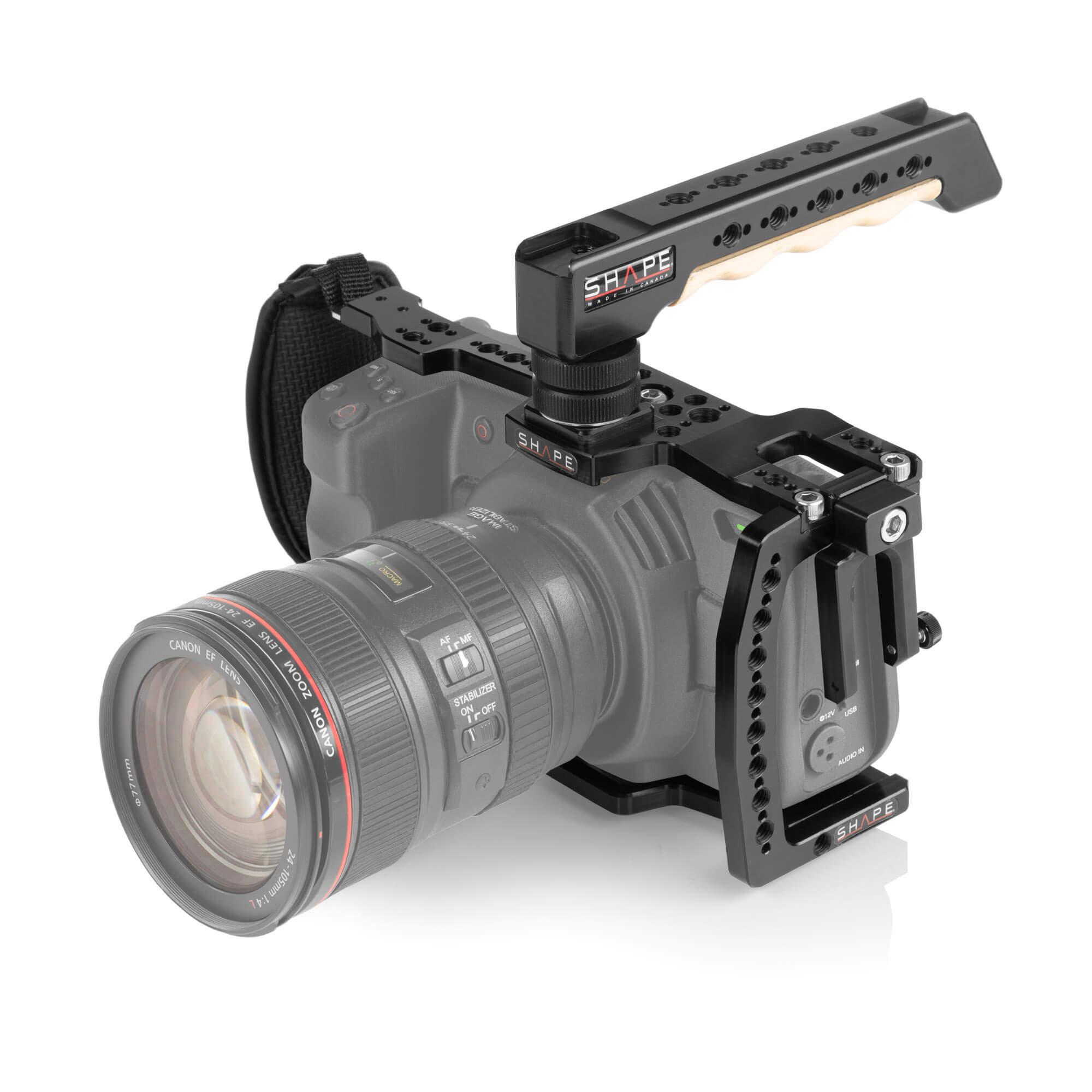 Shape Cage For Blackmagic Pocket Cinema Camera 4k 6k With Top Handle Shape
