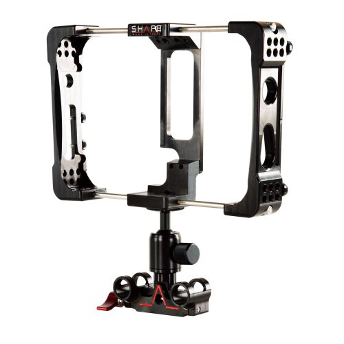 Cage Atomos Flame avec ball head et bloc de rod 15 mm