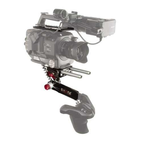 Sony FS7 lightweight bundle top plate remote extension handle