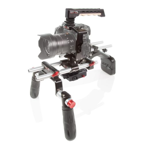 Panasonic GH5 cage offset shoulder mount