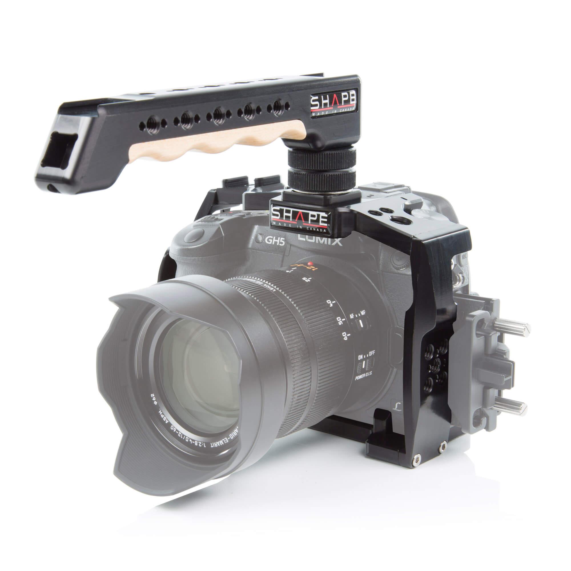 Shape Hot Shoe Top Handle for DSLR Camera