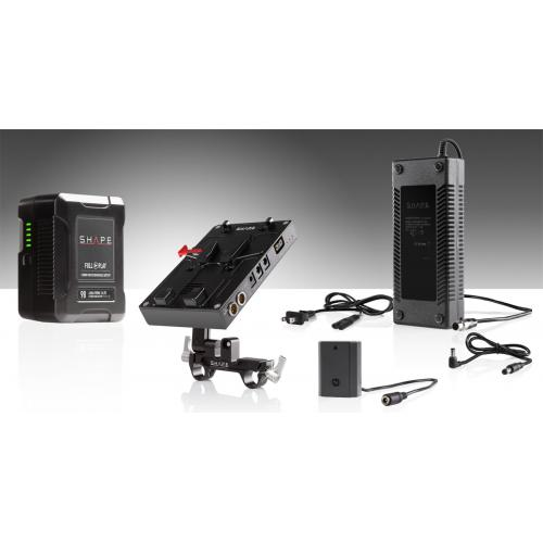 98 WH battery kit d-box camera power and charger for Sony A7R3 and a73 series