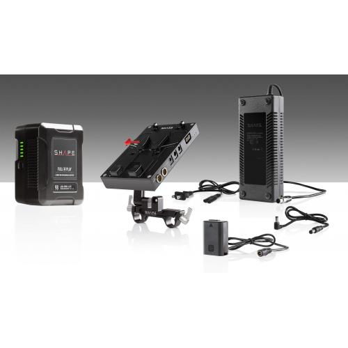 98 WH battery kit d-box camera power and charger for Sony a7 series