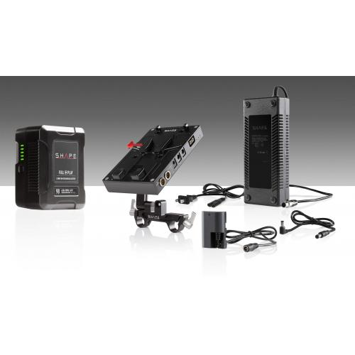 98 WH battery kit d-box camera power and charger for Canon 5D, 7D, Blackmagic Pocket cinema 4k, LP-E6 series