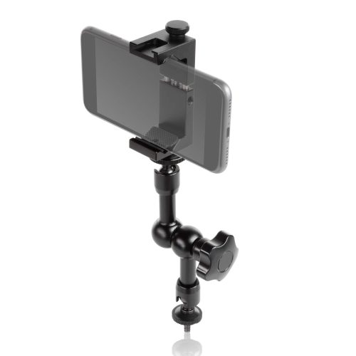 "Smartphone aluminum clamp 7"" magic arm"