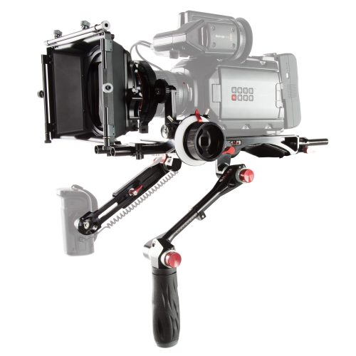 Conjunto para Black Magic Ursa mini con Matte Box y Follow focus