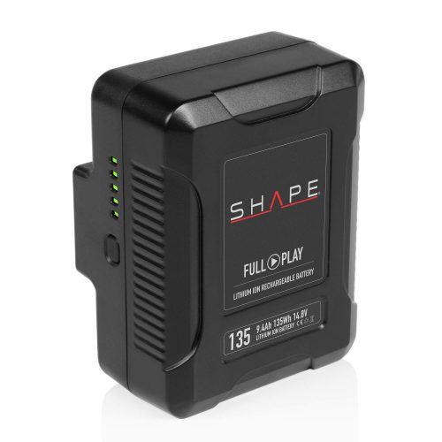 SHAPE FULL PLAY 14.8 V 135 WH rechargeable lithium-ion V-mount battery
