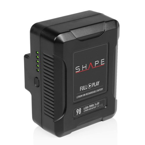 SHAPE FULL PLAY 14.8 V 98 WH rechargeable lithium-ion V-mount battery