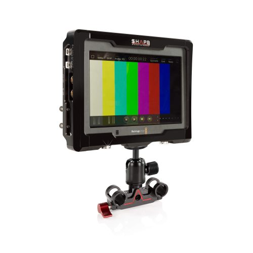 BMD 4k video assist cage with 15 mm ballrod