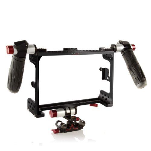 Cage, 15mm Monitor Bracket und Griffe für den Odyssey 7Q+ 4K Recorder/Monitor