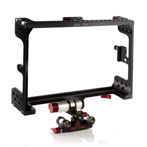 Odyssey 7Q cage with adjustable 15 mm monitor bracket