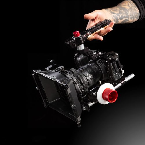 Kit für die Pocket Cinema 4K inklusive Cage, Top Handle, Baseplate, Matte Box, Follow Focus und Rods