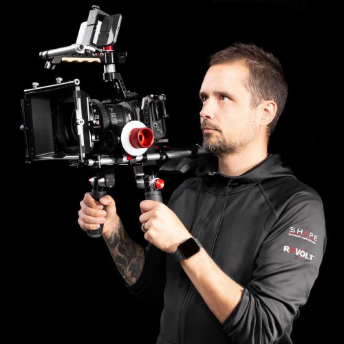 SHAPE Blackmagic Pocket cinema 4k shoulder mount