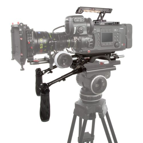 Ensemble crosse d'épaule et poignées télescopiques pour Canon C700