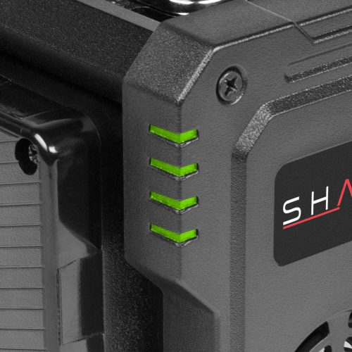 SHAPE FULL PLAY intelligent 4-channel gold-mount lithium-ion battery charger