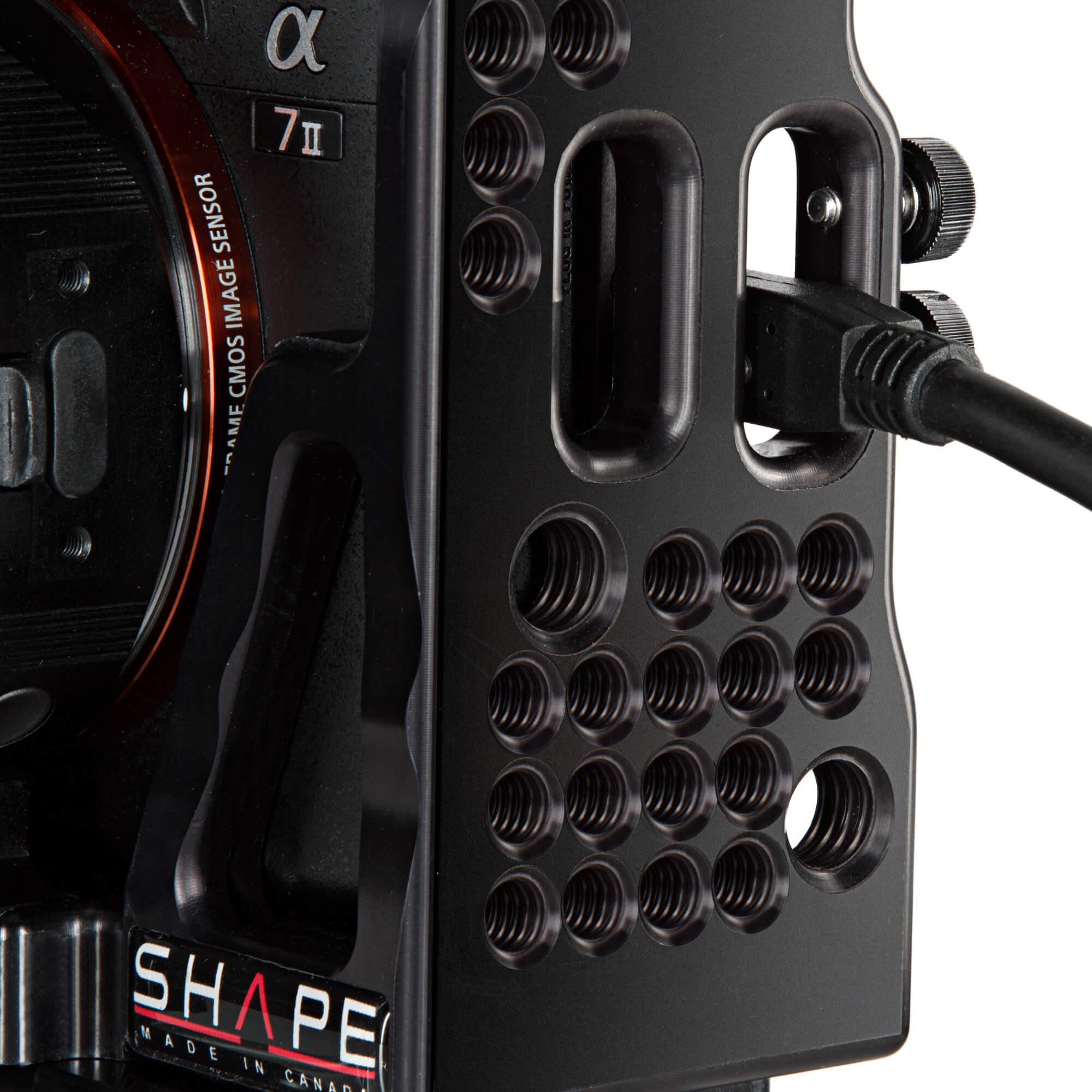 Sony A7S II - A7R II - A7 II kit matte box follow focus - SHAPE