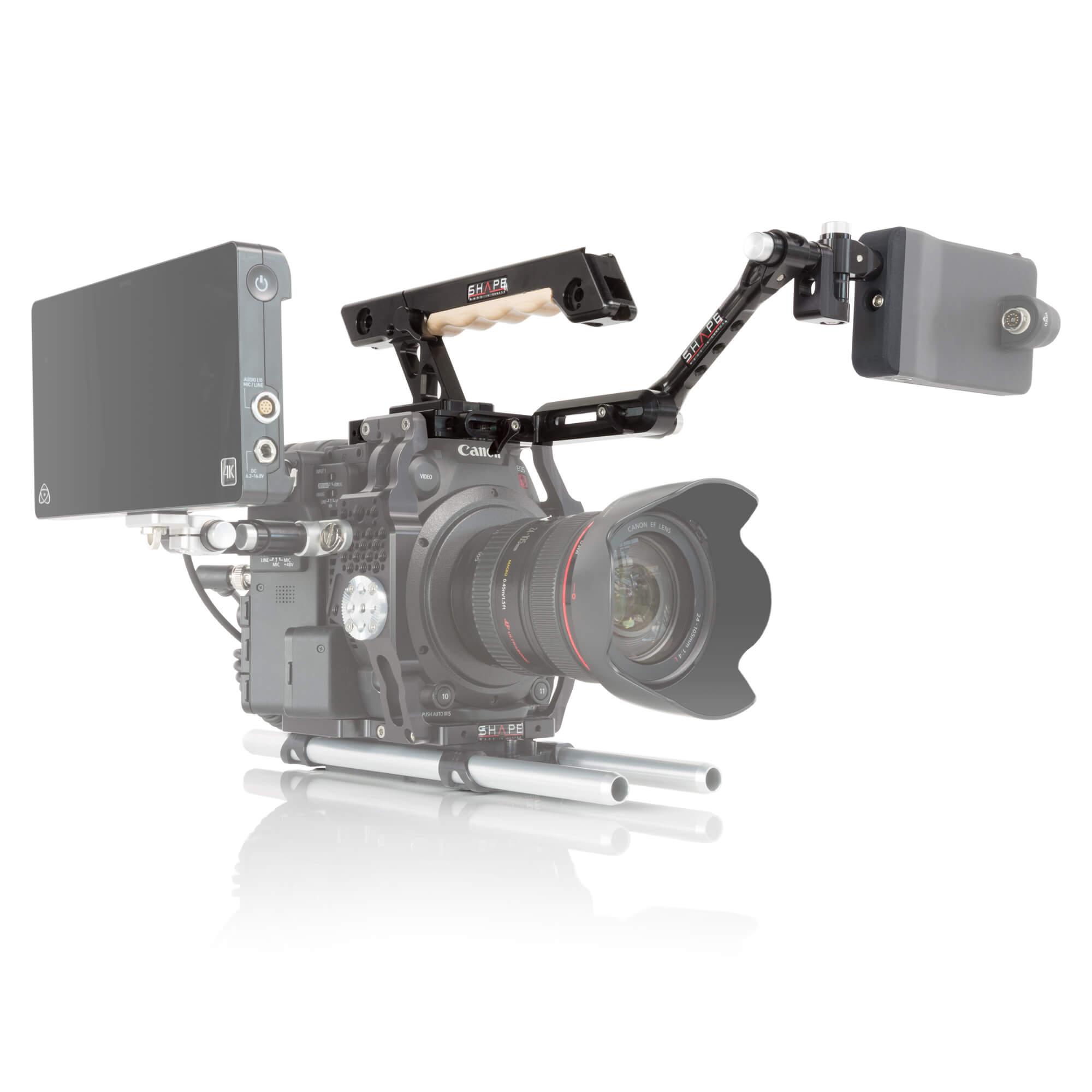 Canon C200 top handle EVF mount - SHAPE