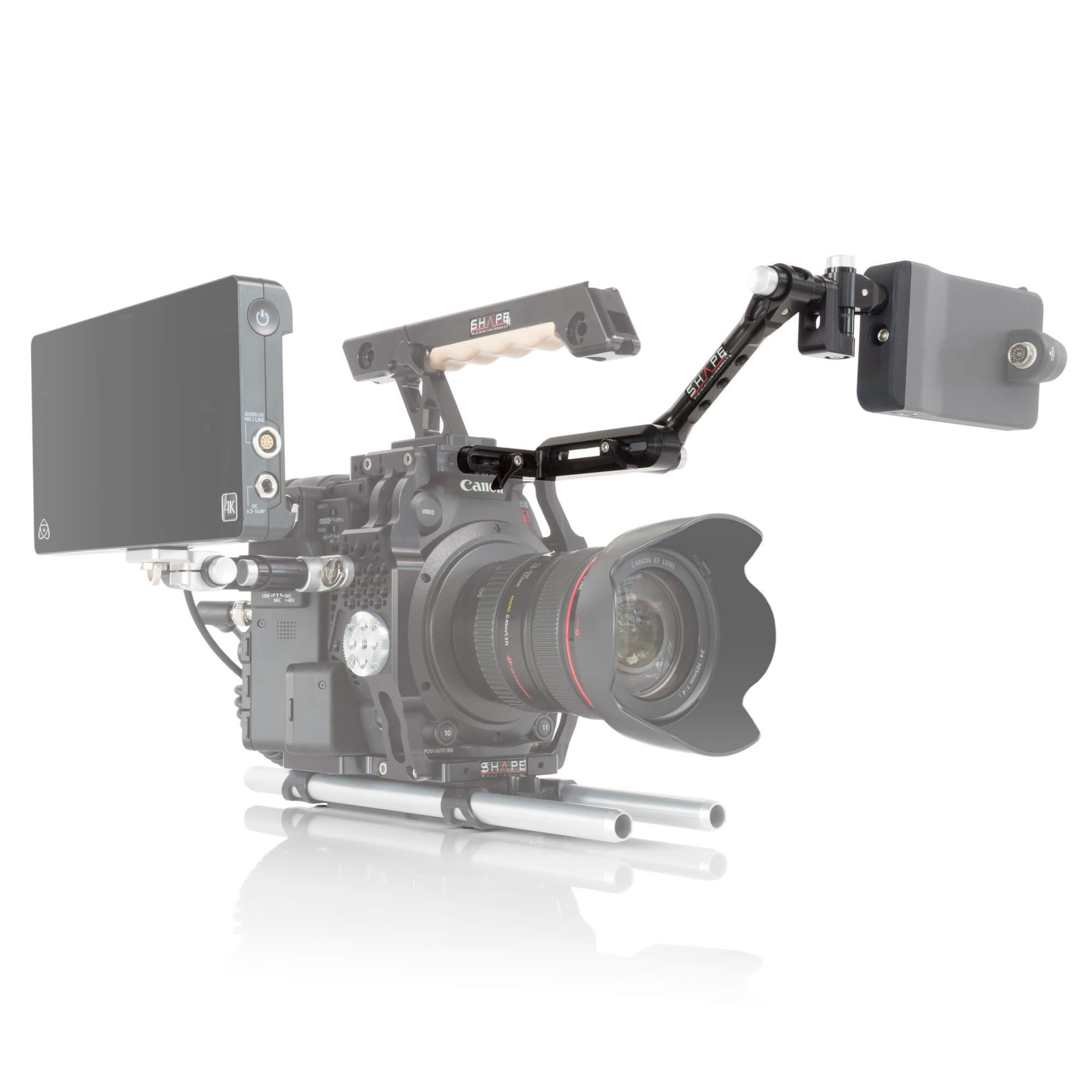 Canon C200 Push-Button view finder mount - SHAPE