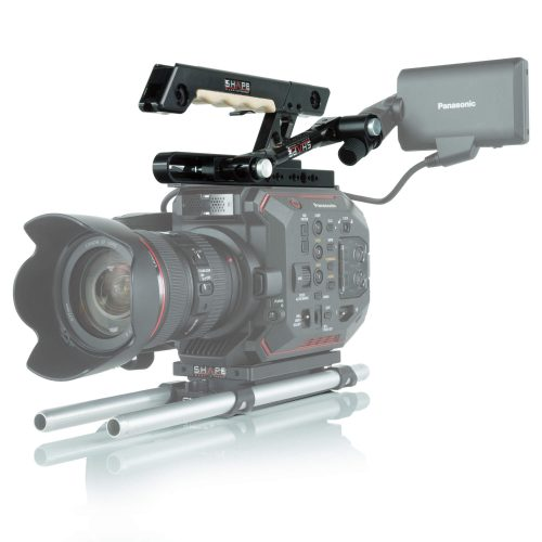 Panasonic Au-Eva1 handle EVF mount