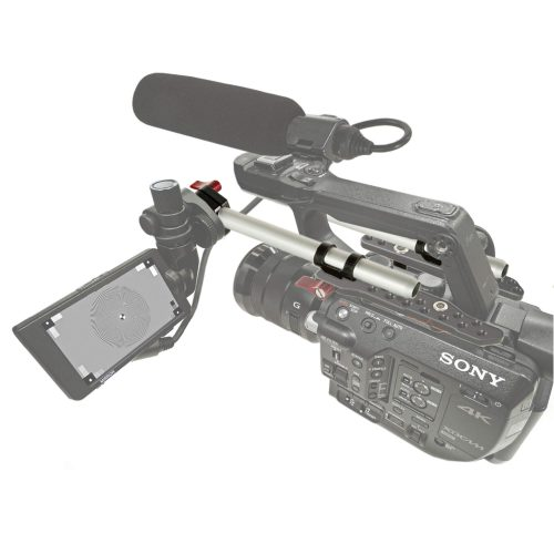 Sony FS5, FS5M2 top plate viewfinder solution