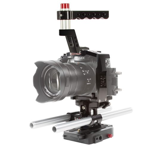 GH5 audio configuration top handle cage