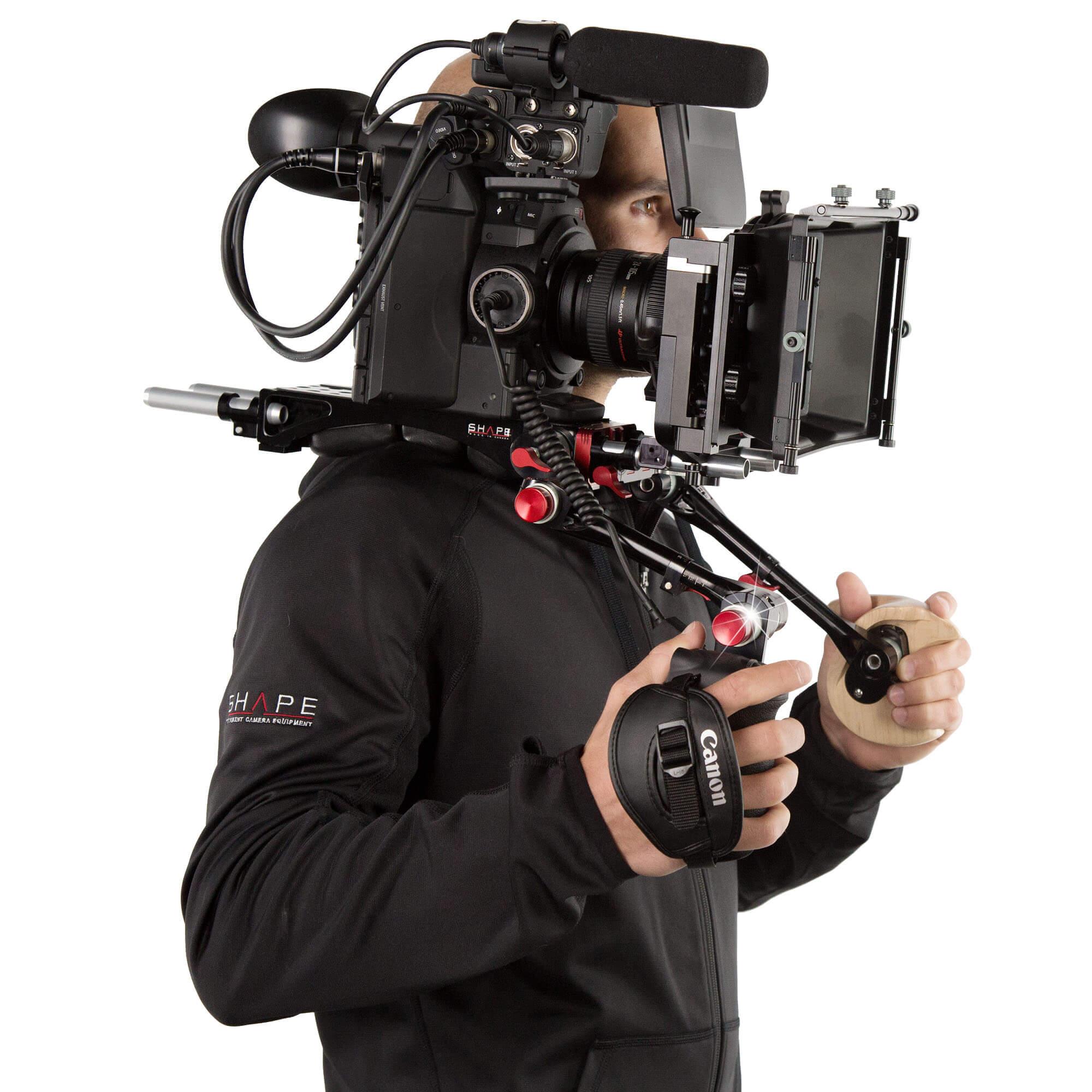 Canon C100 C300 C500 bracket - SHAPE