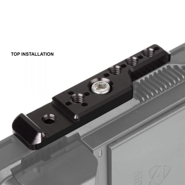 03 Shape Nivtp Top View Threaded Holes And Cold Shoe Insert