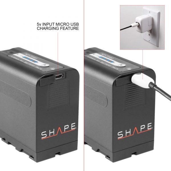 03 Shape Npf80 Insert 5v Micro Usb Input