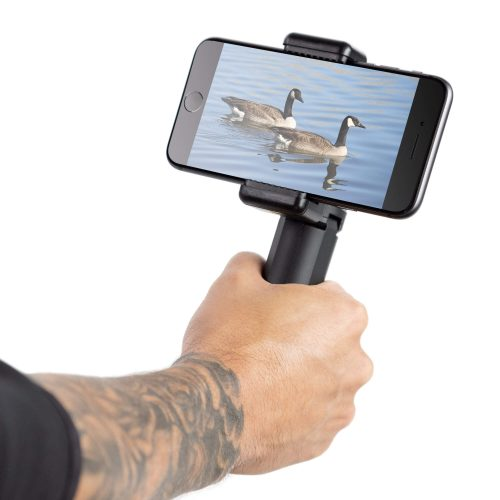Smartphone tripod  and selfie grip with ball head
