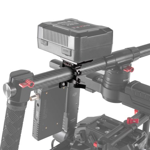 Attache de support de batterie V-Mount pour barre à gimbal 25 mm