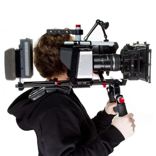 Blackmagic cinema camera shoulder mount offset bundle