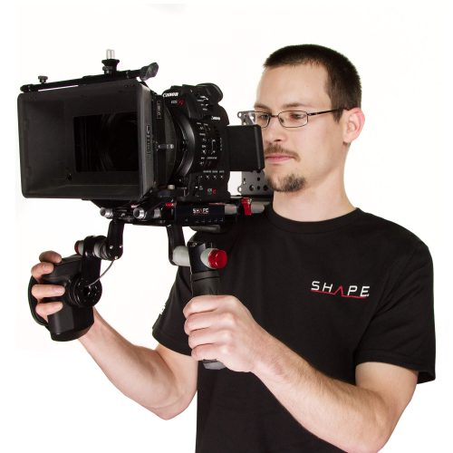 Épaulière décentrée pour Canon C100, C300 & C500